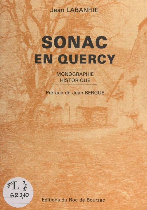 Monographie historique de Sonac en Quercy