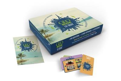 GEOBOOK ; le quiz : le jeu qui fait voyager