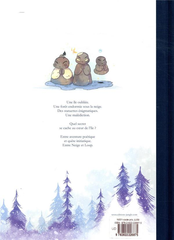 Entre neige et loup