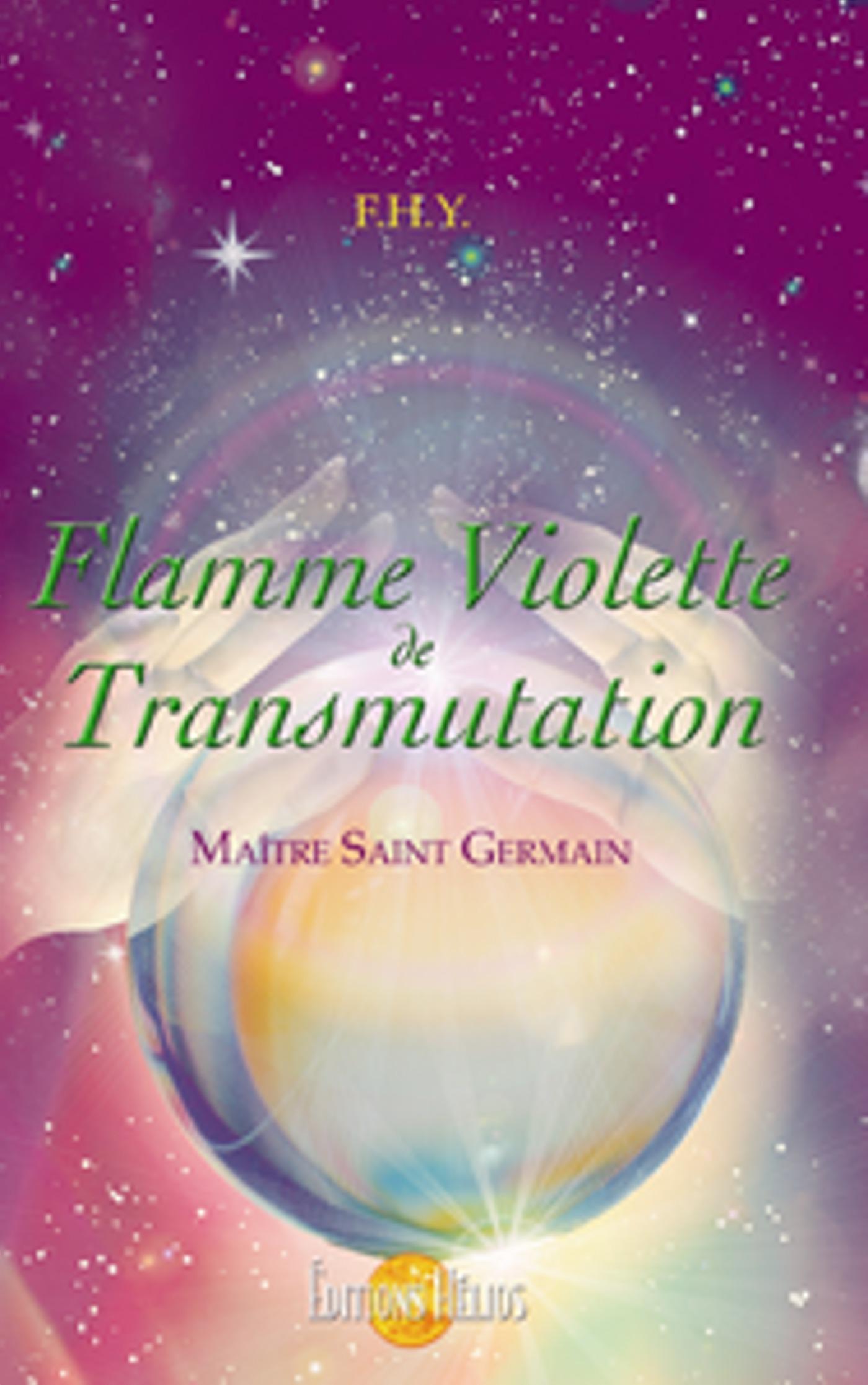 Flamme violette de transmutation