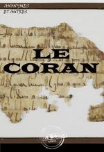 Vente Livre Numérique : Le coran  - Anonymes
