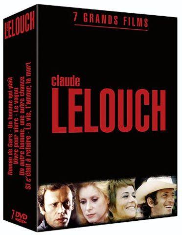 Claude Lelouch - Coffret 7 grands films