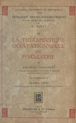 Vente EBooks : La thérapeutique occupationnelle en psychiatrie  - Barahona Fernandes - Seabra Dinis