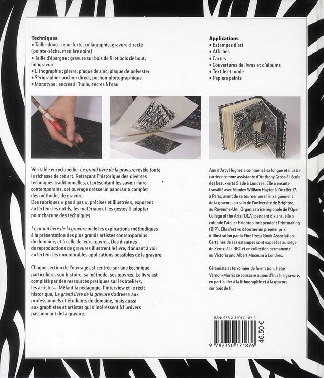 Le grand livre de la gravure ; techniques d'hier à aujourd'hui