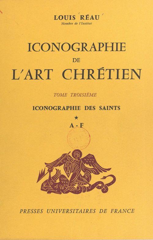 Iconographie de l'art chrétien (3)