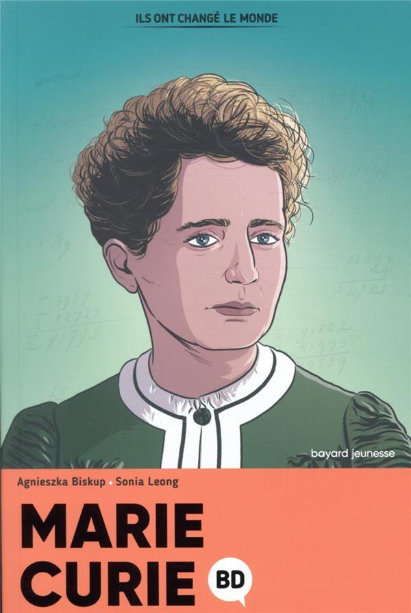 Marie Curie en BD