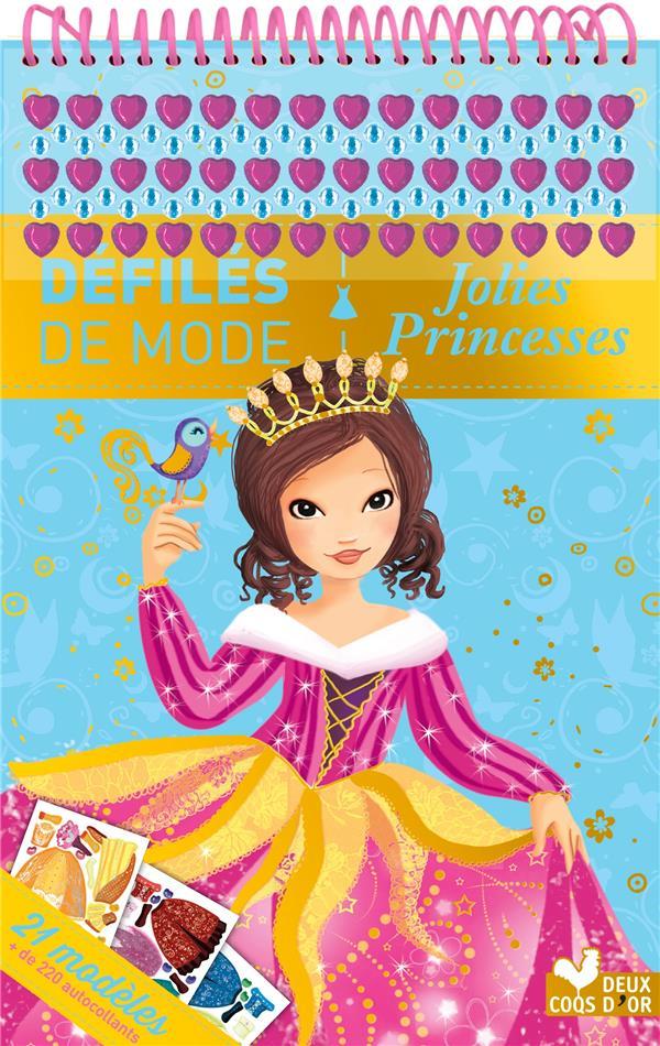 Bloc à spirales ; jolies princesses