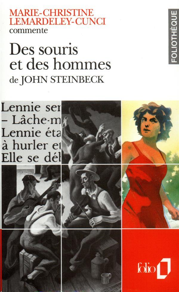 Des Souris Et Des Hommes De John Steinbeck  (Essai Et Dossier)