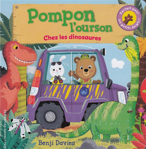 Pompon l'ourson ; chez les dinosaures
