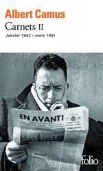 Vente Livre Numérique : Carnets (Tome 2) - janvier 1942 - mars 1951  - Albert Camus