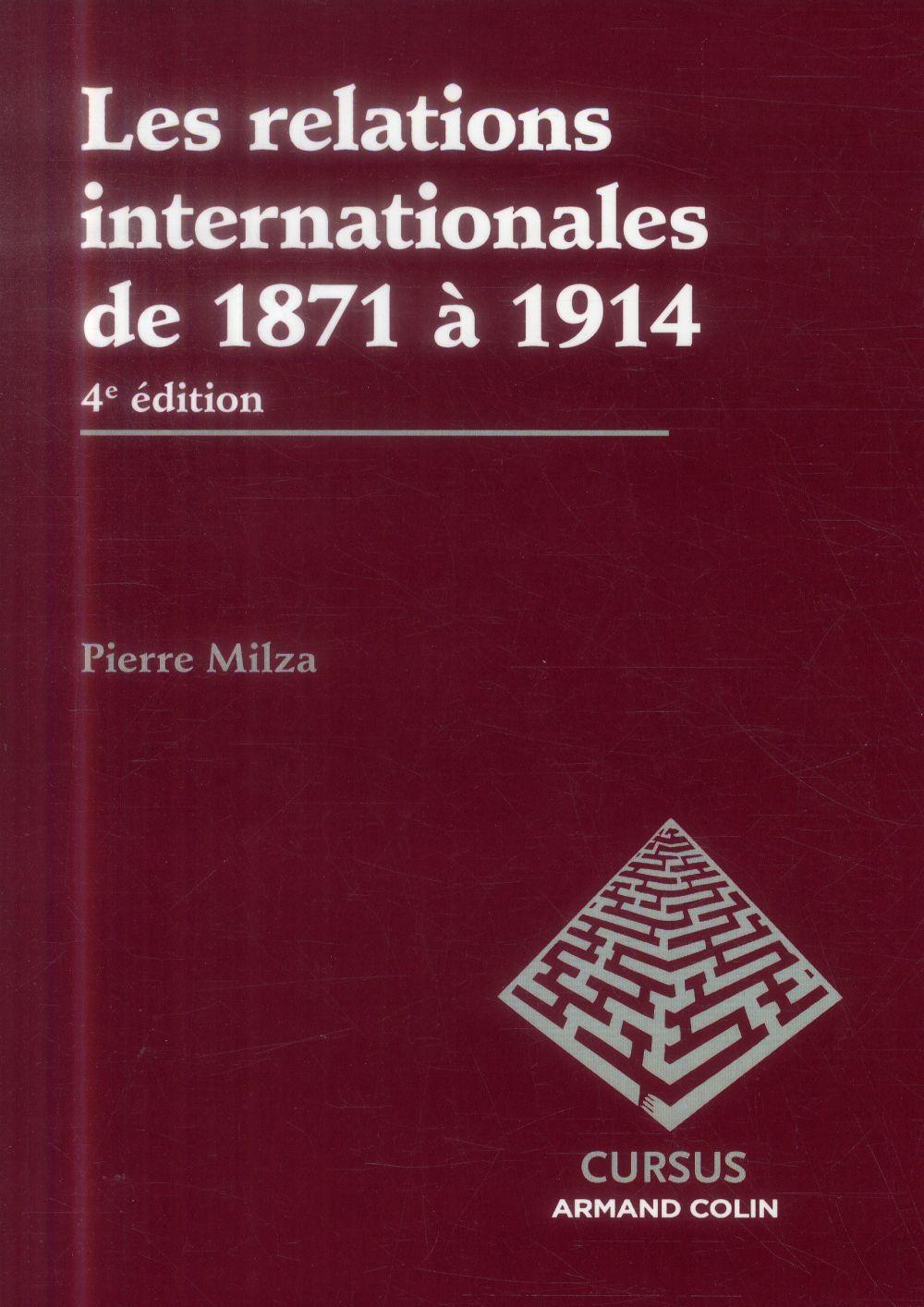 Les relations internationales de 1871 à 1914