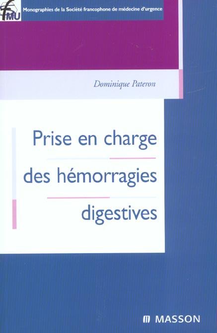 Prise En Charge Des Hemorragies Digestives
