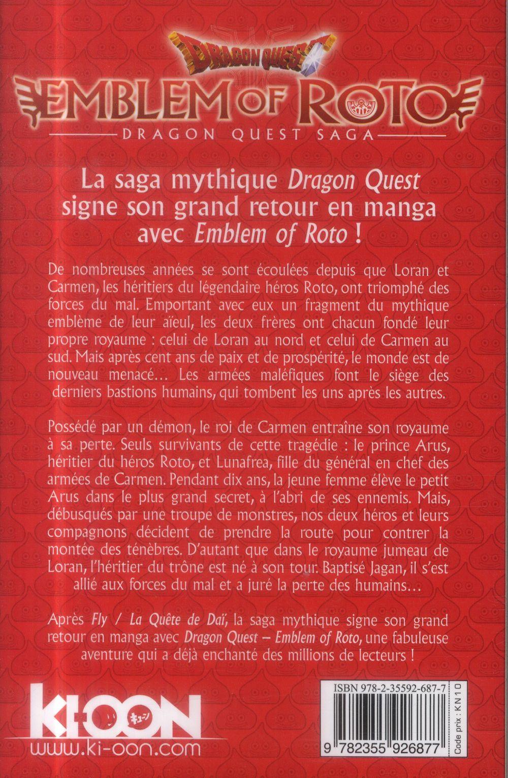 dragon quest - emblem of Roto t.1