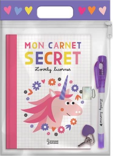 Mon carnet secret licornes
