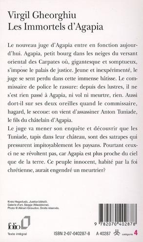 les immortels d'Agapia