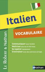 Italien ; vocabulaire