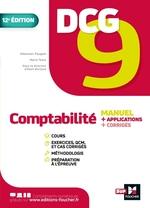 Vente Livre Numérique : DCG 9 : comptabilité ; manuel + applications + corrigés (2e édition)  - Alain Burlaud - Sébastien Paugam - Marie Teste