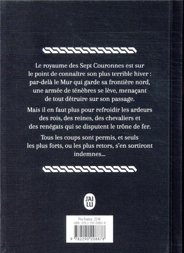 Le trône de fer ; INTEGRALE VOL.1