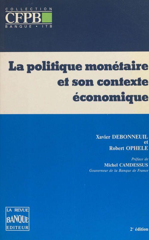 Politique monetaire