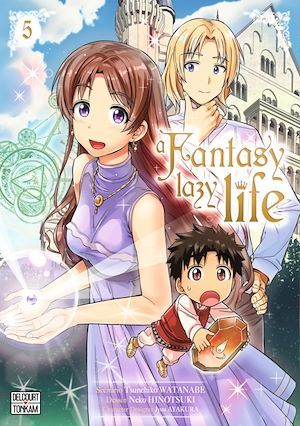 A fantasy lazy life T.5