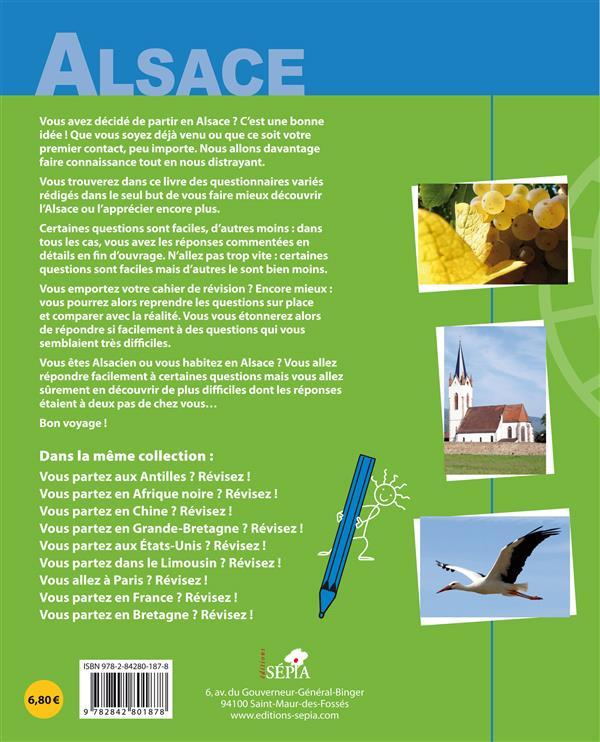 Vous partez en Alsace ? ; révisez !