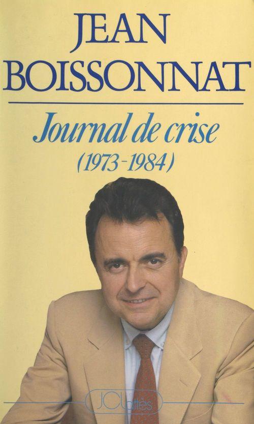 Journal de crise (1973-1984)