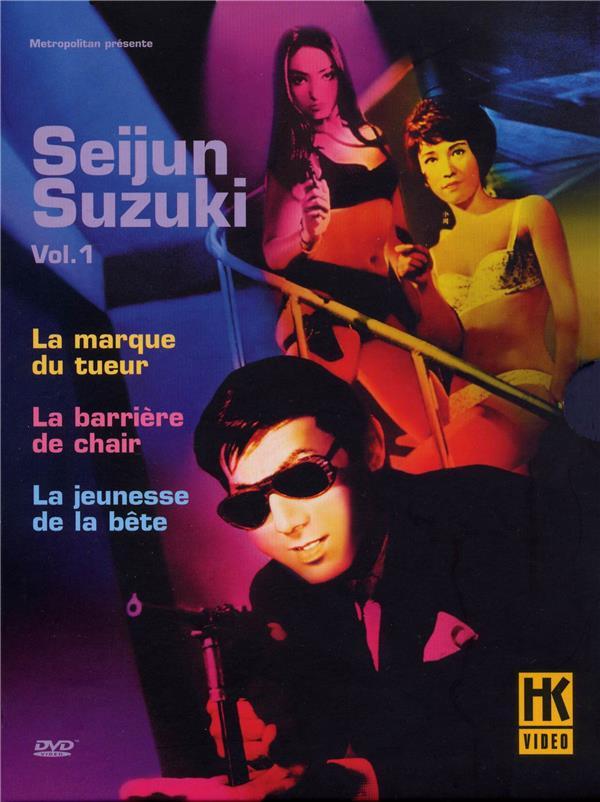 Seijun Suzuki - Vol. 1 : La marque du tueur + La barrière de chair + La jeunesse de la bête