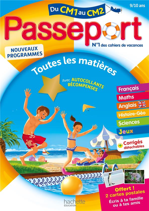 PASSEPORT  -  TOUTES LES MATIERES  -  DU CM1 AU CM2