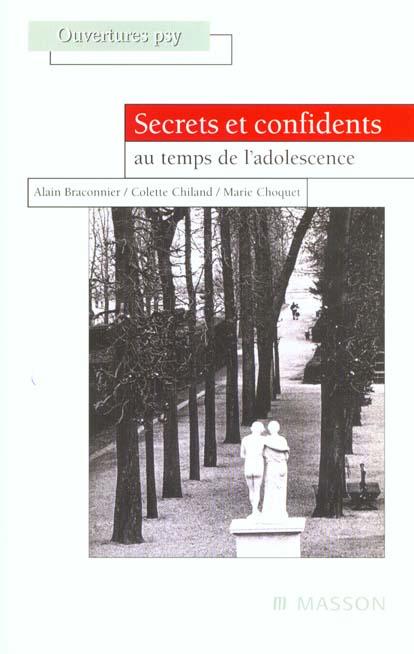 Secrets et confidents