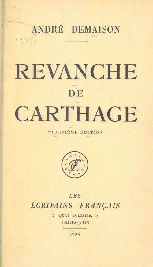 Revanche de Carthage