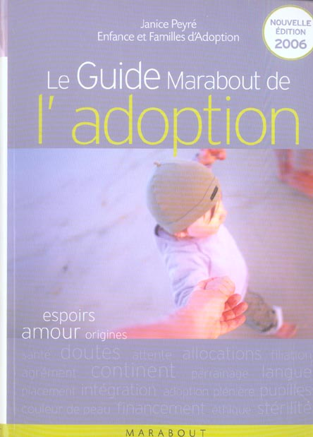 Le guide marabout de l'adoption 2006