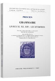 Grammaire livres XI - XII - XIII - les hybrides