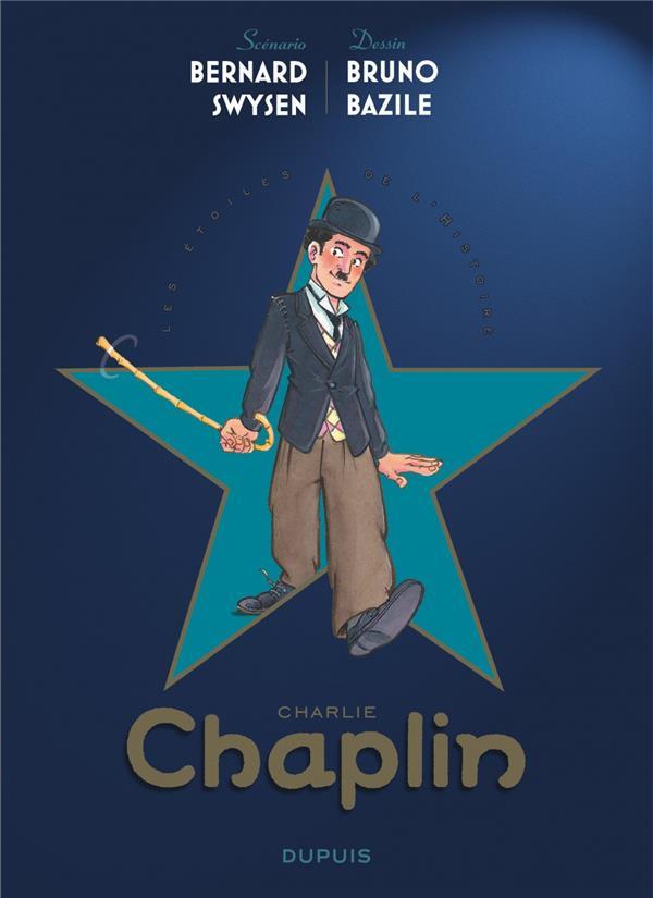 Les étoiles de l'histoire T.1 ; Charlie Chaplin