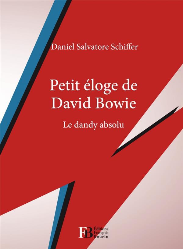 Petit éloge de David Bowie ; le dandy absolu