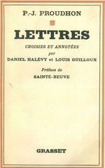 Vente EBooks : Lettres  - Pierre-Joseph Proudhon