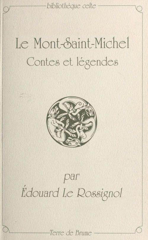 Le mont-saint-michel contes et legendes