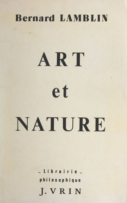 Art et nature