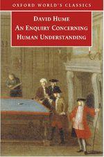 Vente Livre Numérique : An Enquiry concerning Human Understanding  - David HUME