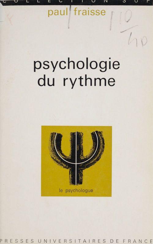 Psychologie du rythme
