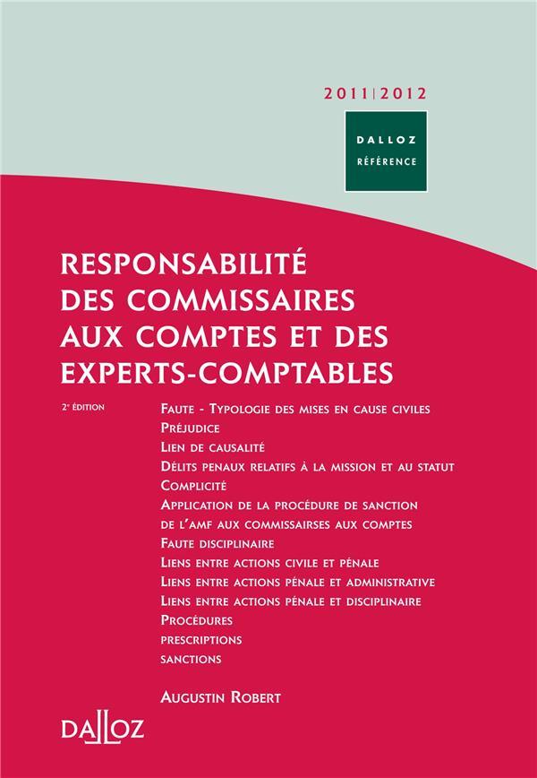 Responsabilité des commissaires aux comptes et des experts-comptables (édition 2011/2012)