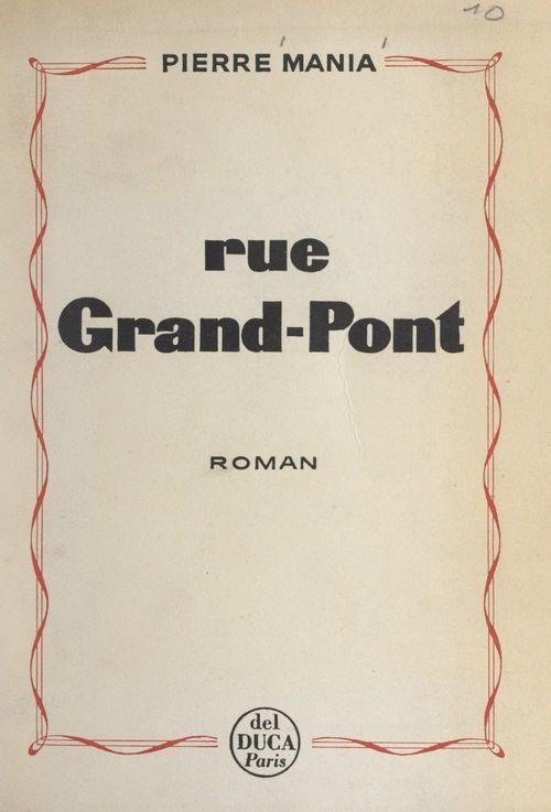 Rue Grand-Pont