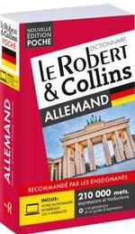 LE ROBERT & COLLINS ; POCHE ; dictionnaire allemand