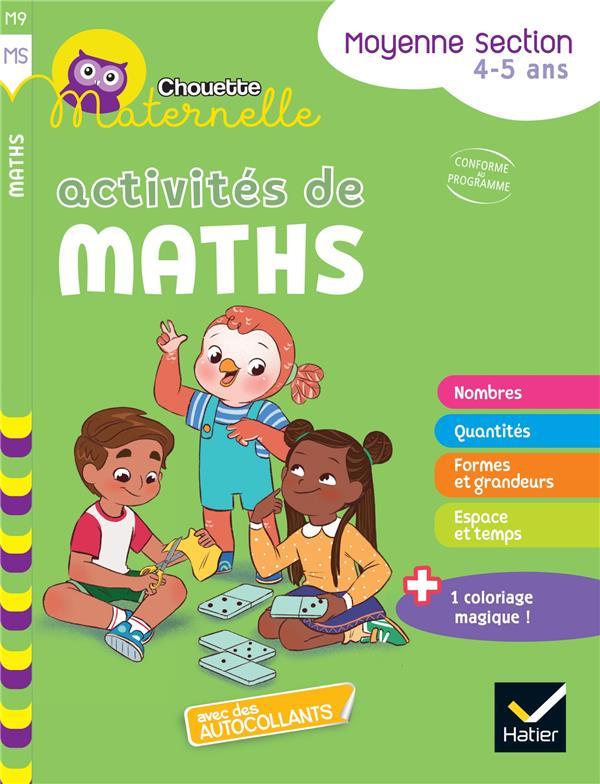 Chouette maternelle ; activités de maths ; MS