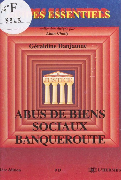 Abus de biens sociaux, banqueroute