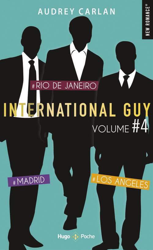 International guy ; INTEGRALE VOL.4 ; T.10 A T.12 ; Madrid, Rio de Janero, Los Angeles