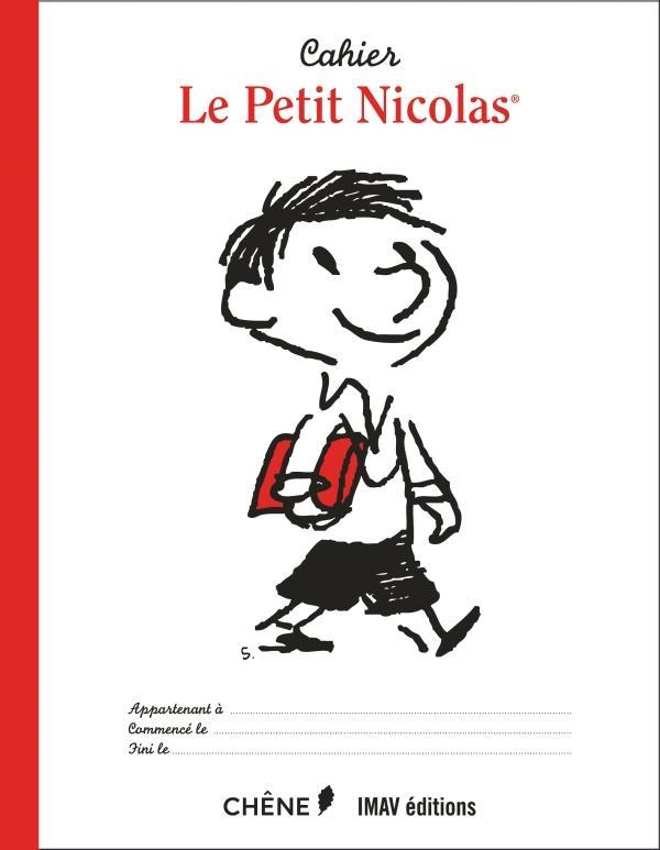 Le Petit Nicolas ; cahier cartable