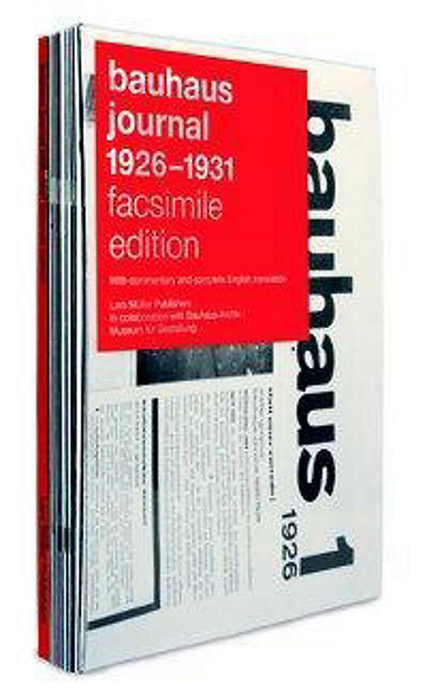 Bauhaus journal 1926-1931 facsimile edition
