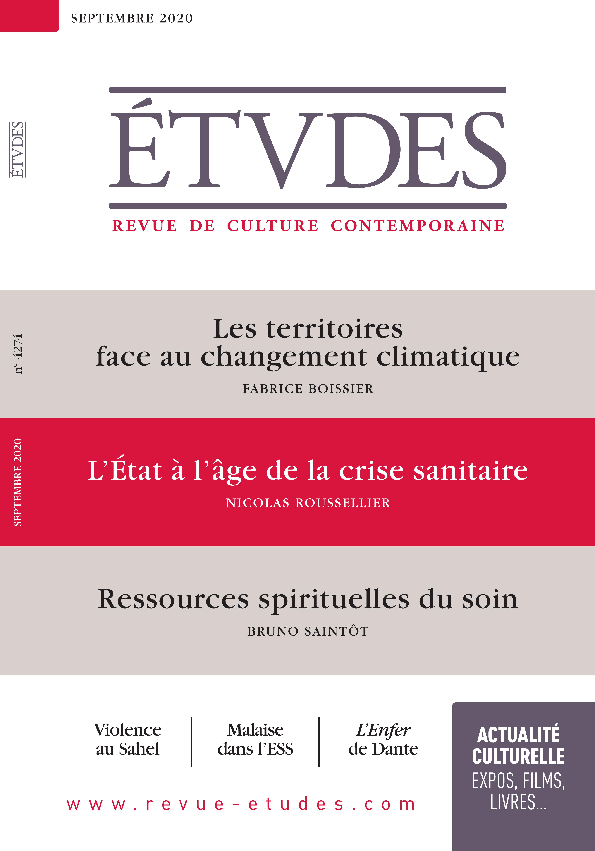 Revue Etudes - L'Etat Français à l'âge de la crise sanitaire, Nicolas Roussellier