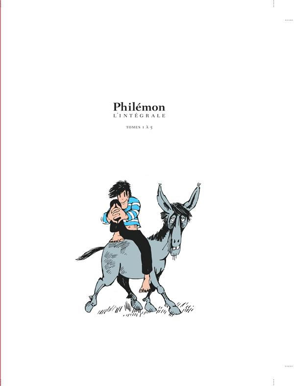 Philemon ; integrale vol.1 ; t.1 a t.5