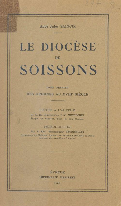 Le diocèse de Soissons (1)